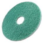 "Picture of 16"" TWISTER GREEN FLOOR PAD  211666 1x2"