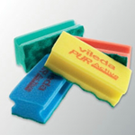 Picture of 123113 P/ACTIVE YELL SPONGE SCOURER 1X10
