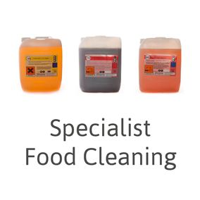 Picture for category Specialist Food Cleaning