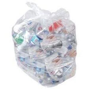 Picture of CLEAR COMPACTOR SACKS 22x33x47 HD 20KG